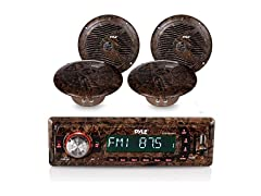 Marine Stereo Receiver Speaker Kit