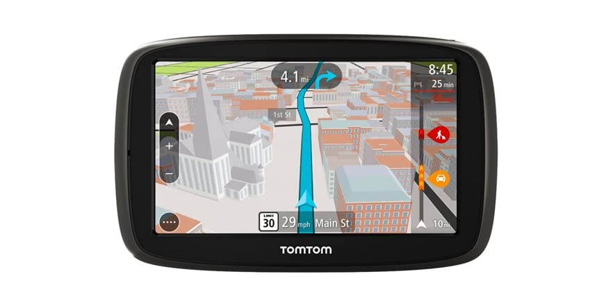 tomtom 5 gps w lifetime maps traffic. Black Bedroom Furniture Sets. Home Design Ideas