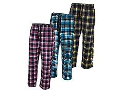 Brooklyn Vertical Unisex PJ Pants 3-Pack