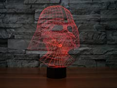 Star Wars 3D Illusion Decorative Lights