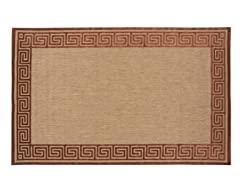 In/Outdoor Rugs Portera Natural Rust