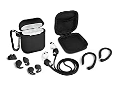 Aduro 8 Piece Accessory Kit for AirPods