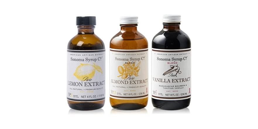 Sonoma Syrup Baking Extracts 3 Pack   WOOT