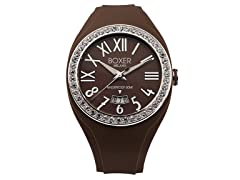 Men's BOX 40Z BROWN Brown Dial Watch