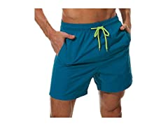 SILKWORLD Men's Swim Trunk