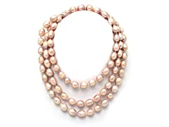SS Pink Freshwater Pearl Necklace