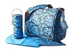 Kalencom Diaper Bag - Ripstop Blue