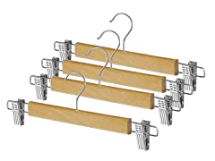 Skirt Hangers Set Of 4