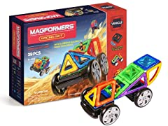 Magformers R/C 39Pc Racing Set