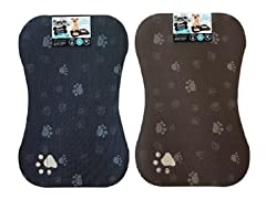 2Pk Pet Place Mats Bone