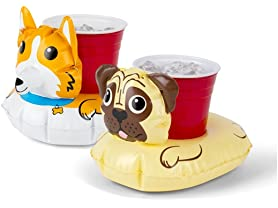 Dog Beverage Boats - 2 pack