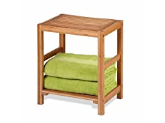 Honey-Can-Do Bamboo Spa Bench