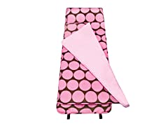 Big Pink Dots Nap Mat