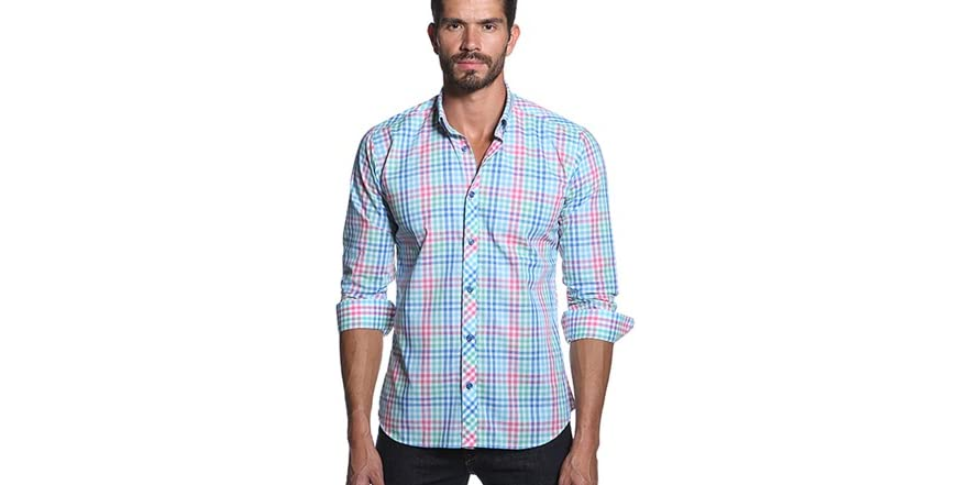 Pastel men 39 s dress shirt for Pastel colored men s t shirts