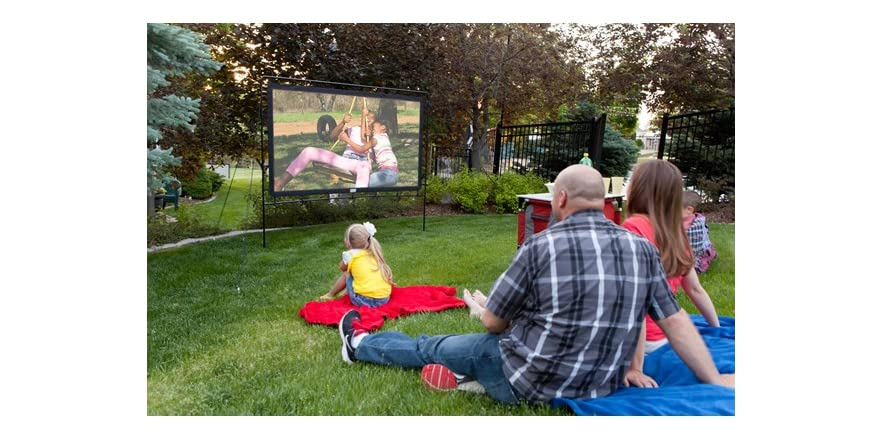 camp chef portable outdoor movie screen