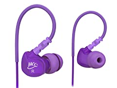 M6 In-Ear Sport Earbuds - Purple