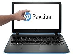 "HP 17.3"" Touchscreen A10 Quad-Core Laptops"