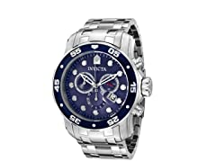 Men's Pro Diver Blue/Silver Watch