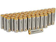 AmazonBasics AA Alkaline Batteries