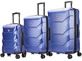 Dukap Zonix Lightweight Hardside Luggage