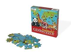 GeoPuzzle- Animals