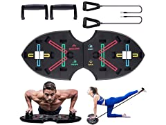 ZFIT Pushup Rack with 2 Resistance Bands