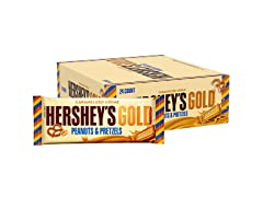 HERSHEY'S Gold Candy Bar, 24ct