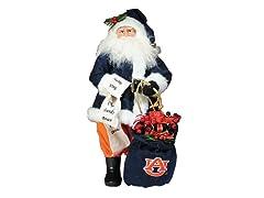 Santa Claus w/bag - Auburn