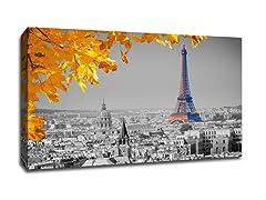 Eiffel Tower in Fall