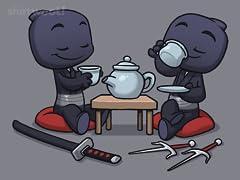 Ninja Tea Time