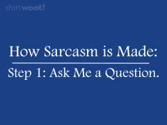 Step 2: Sarcasm