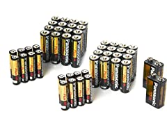 Panasonic Battery Pack - 32AA/16AAA/2-9V