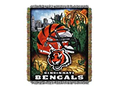 Bengals Tapestry Throw
