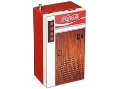 Coca-Cola Retro Style Bluetooth Speaker and FM Radio