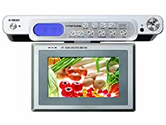 Curtis Undercabinet Radio with LCD TV