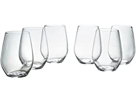 Stone & Beam Traditional Stemless White Wine Glass