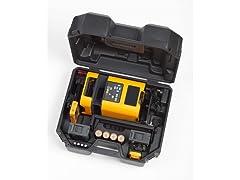 PLS HV2R Red Rotary Laser Level Kit