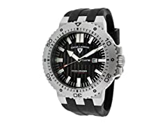 Challenger Watch, Black / Silver