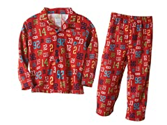 Absorba 2 Piece PJ's - Numbers