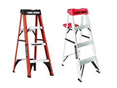 Black+Decker 4' Step Ladders
