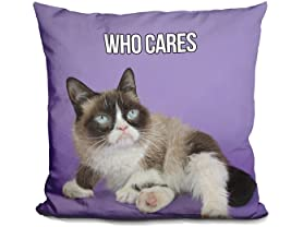 Who Cares Pillow