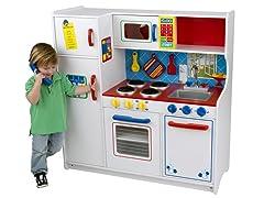 Kidkraft Deluxe Let's Cook Kitchen