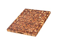 Teakhaus Rectangle End Grain Carving Board
