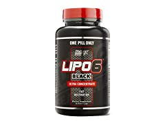 Nutrex Lipo-6 Black Fat Destroyer, 60ct