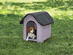 Guardian Gear Happy Home Dog House - Grey