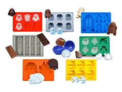 8-Pack Star Wars Ice Trays, Variety Pack