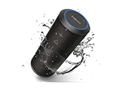 Zamkol Water-Resistant Portable Bluetooth Speaker