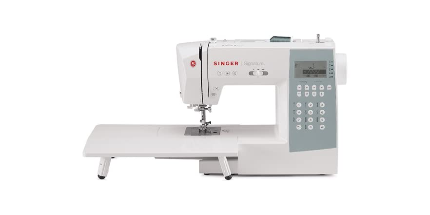 singer 9340 electronic sewing machine white