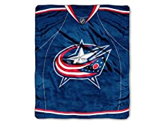 Columbus Blue Jackets Throw