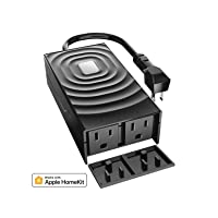 Deals on meross Smart Outdoor Plug, Waterproof WiFi Outdoor Outlet Compatible